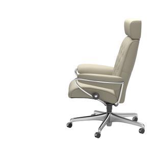 See Details - Stressless® Metro Home Office Adjustable Headrest