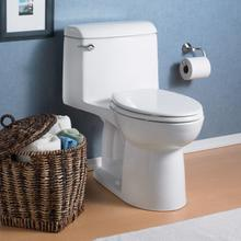 View Product - Champion 4 Elongated Right Height One-Piece Toilet - 1.6 GPF - White
