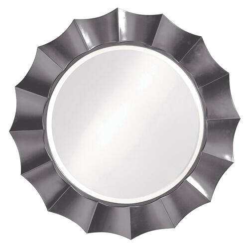 Howard Elliott - Corona Mirror - Glossy Charcoal