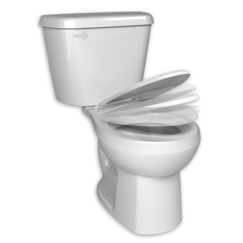 American Standard - Complete HET Elongated Toilet - 1.28 gpf - White