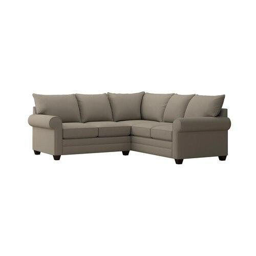 Alexander Roll Arm Small L Sectional