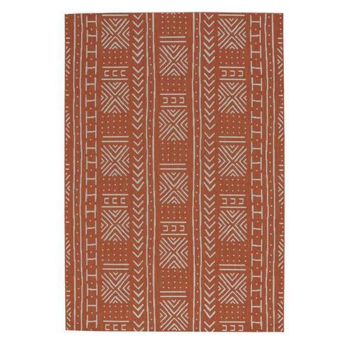 Finesse-Mali Cloth Persimmon Machine Woven Rugs