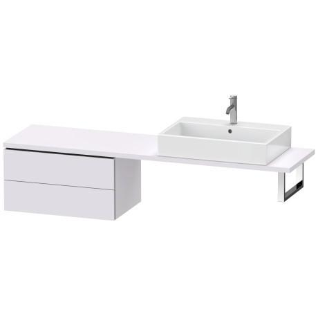 Low Cabinet For Console Compact, White Lilac Satin Matte (lacquer)