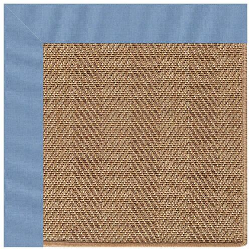 "Capel Rugs - Islamorada-Herringbone Canvas Air Blue - Rectangle - 24"" x 36"""