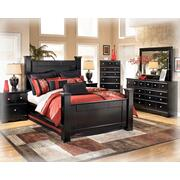 Queen Bed, Nightstand, Dresser, Mirror & Chest of drawers Product Image