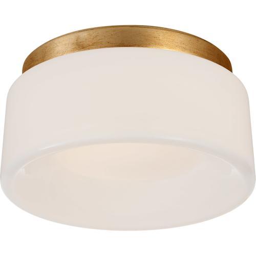 Visual Comfort - Barbara Barry Halo LED 6 inch Gild Flush Mount Ceiling Light, Petite