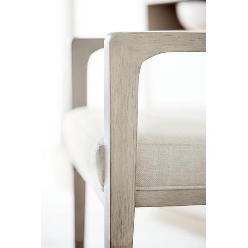 Axiom Arm Chair in Linear Gray (381)
