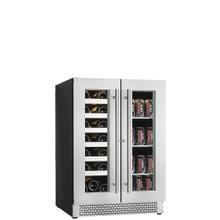 Built-in/freestanding Beverage Center 21 Bottles + 66 Cans (or 42 Bottles) - Dual Zone