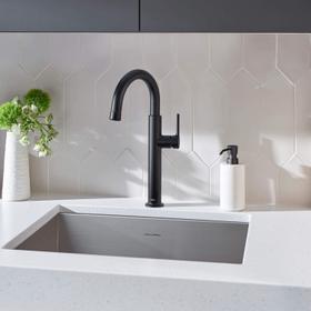 Studio S Pull-Down Bar Faucet  American Standard - Matte Black
