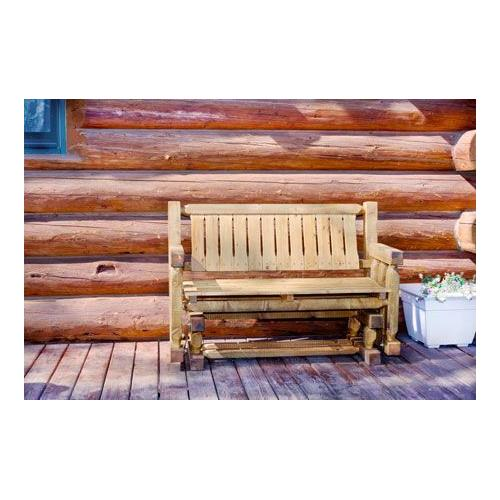 Montana Woodworks - Homestead Collection Two Person Glider