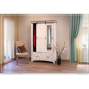 2 Drawer, 1 Sliding door, 1 Door Armoire Product Image