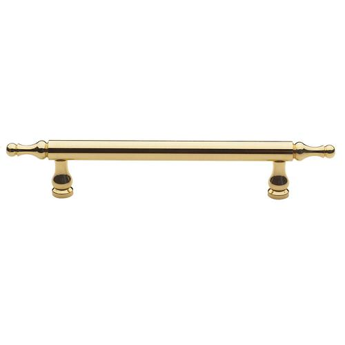 Polished Brass Spindle Pull