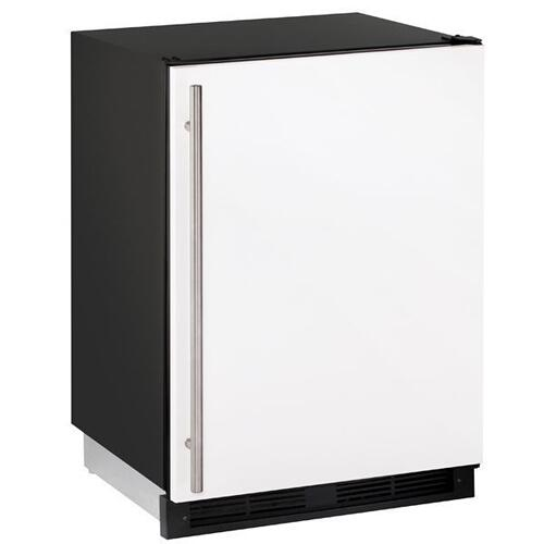"1224rf 24"" Refrigerator/freezer With White Solid Finish (115 V/60 Hz Volts /60 Hz Hz)"