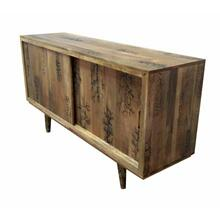 ACME Kaiser Console Table - 90542 - Rustic - Wood (Mango) - Natural