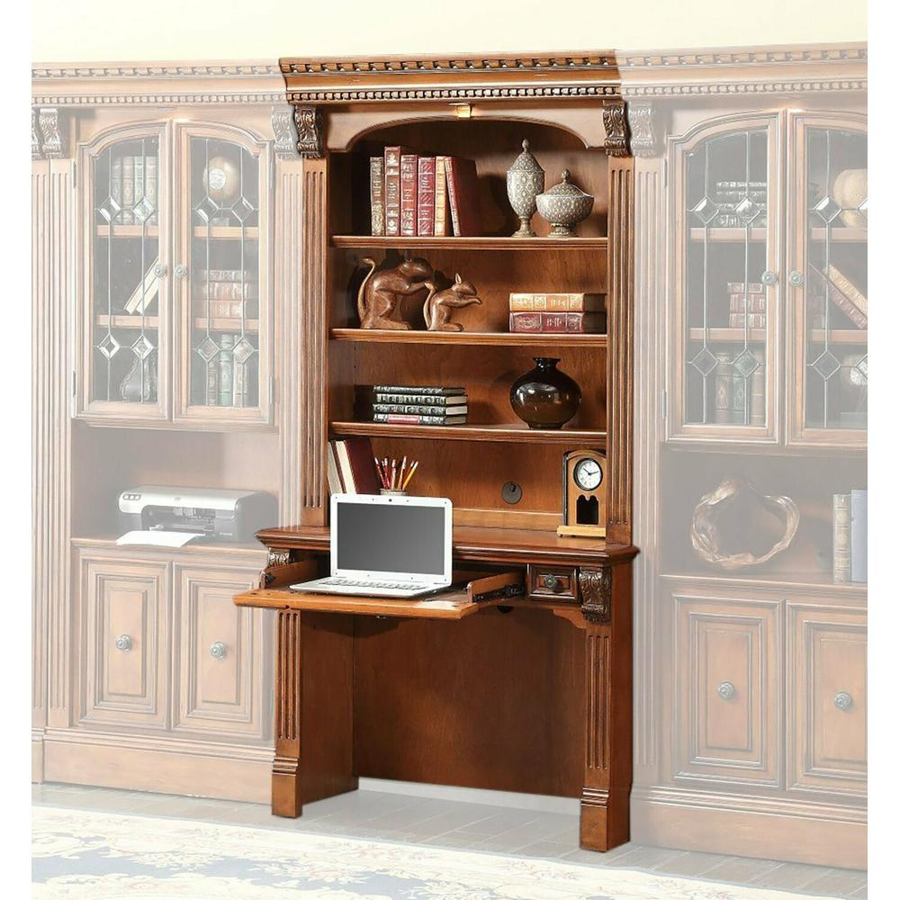 See Details - HUNTINGTON 2 piece Library Desk