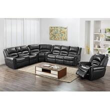 Braxton Black Sectional