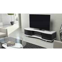 See Details - Ola 8137 Media Cabinet in Smooth Satin White