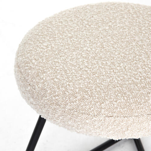 Frankie Accent Stool-knoll Natural