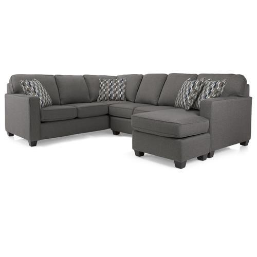 2541-22 RHF Sofa w/chaise