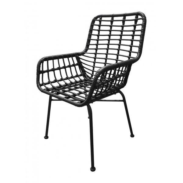 Lyon Dining Chair Black