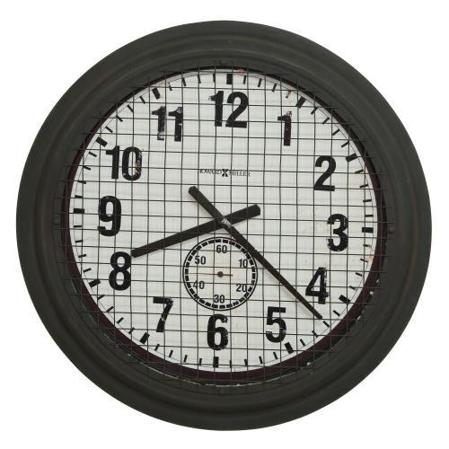 Howard Miller Grid Iron Works Metal Oversized Wall Clock 625625