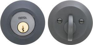 Modern Auxiliary Deadbolt Kit in (US10B Black, Oil-Rubbed, Lacquered) Product Image