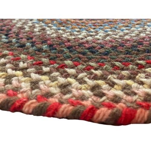 Americana Mocha Braided Rugs (Custom)