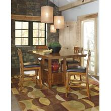 See Details - Ralene - Medium Brown Counter Height Dining Set