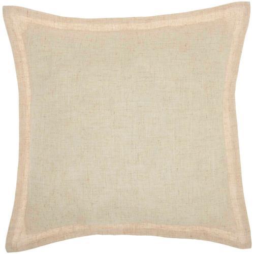 "Holiday Pillows L1809 Natural 18"" X 18"" Throw Pillow"