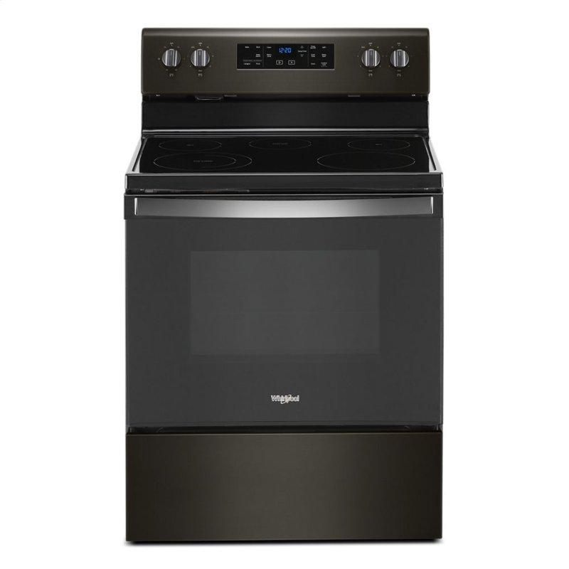 5.3 cu. ft. Whirlpool® electric range with Frozen Bake™ technology