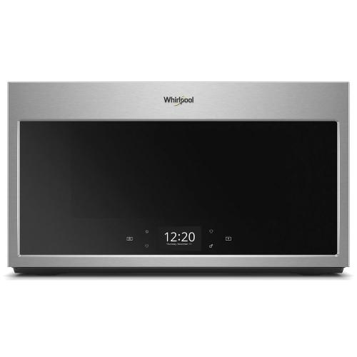 Whirlpool Canada - Smart 1.9 cu. ft. Over the Range Microwave with Multi-step cooking