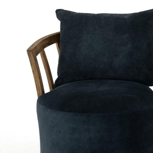 Montana Blue Cover Hallie Swivel Chair