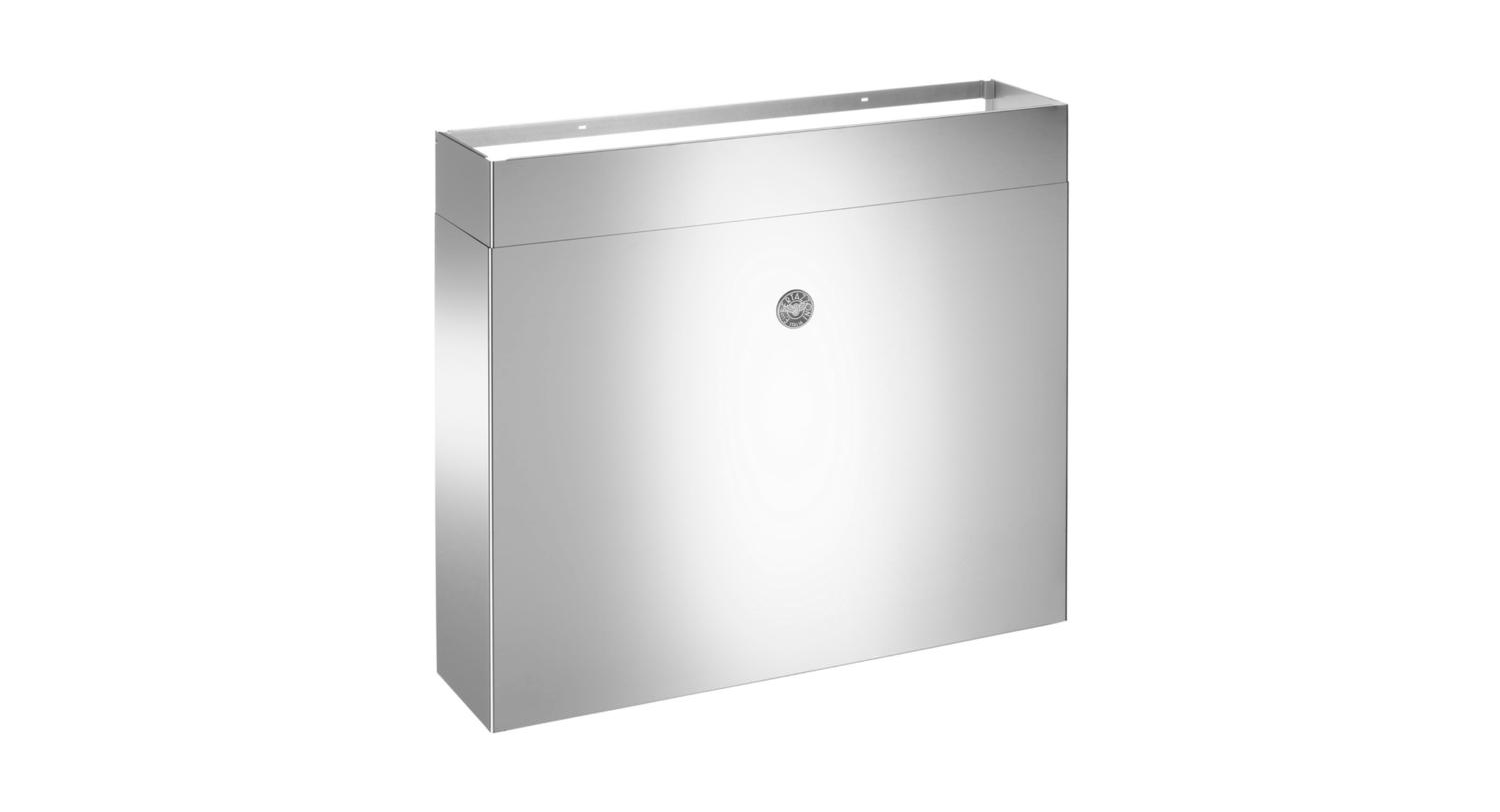 """48"""" Duct Cover Large for KU models Stainless Steel"""