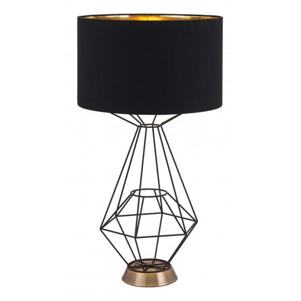 Delancey Table Lamp Black