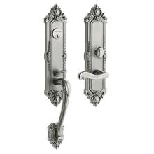 Satin Nickel Kensington Entrance Trim