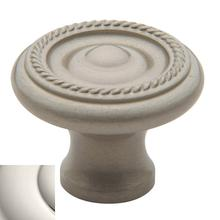 Polished Nickel Rope Knob