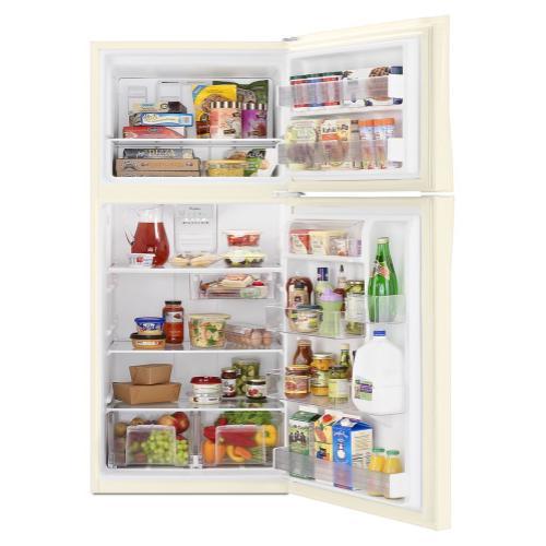 Whirlpool - 30-inch Wide Top Freezer Refrigerator - 19 Cu. Ft.