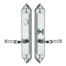Polished Chrome Fenwick Entrance Trim
