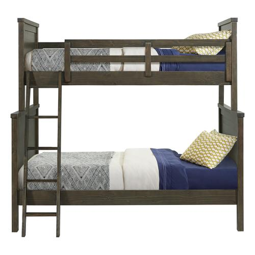 Tahoe Youth Twin over Full Bunk Bed  River Rock