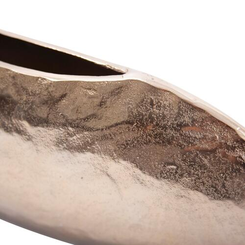 Howard Elliott - Hammered Organic Gold Aluminum Canoe Vase, Small