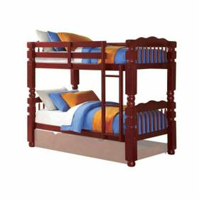 ACME Benji Twin/Twin Bunk Bed - 02570 - Cherry