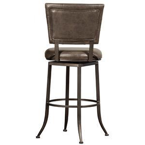 Hillbrook Commercial Grade Swivel Bar Stool