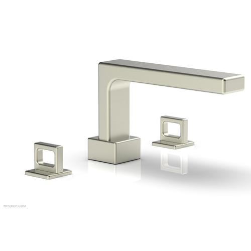 MIX Deck Tub Set - Ring Handles 290-42 - Satin Nickel