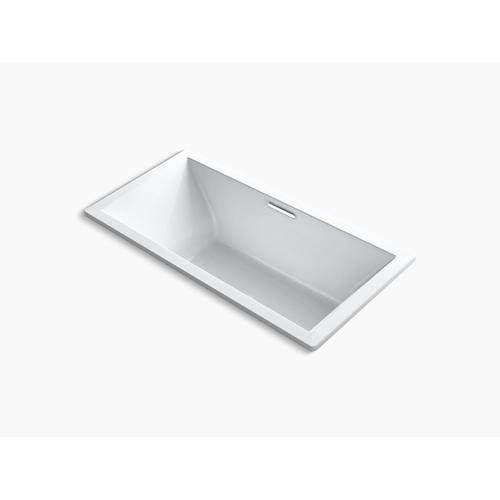 "Thunder Grey 72"" X 36"" Drop-in Bath With Center Drain"