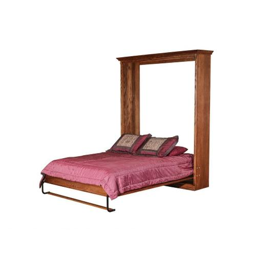 Forest Designs Mission Open Queen Murphy Bed: 73W X 92H X 15D/ Bed Extends 89 From Wall - Full