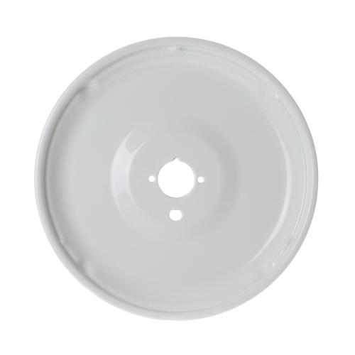Range Large Porcelain Burner Bowl - White