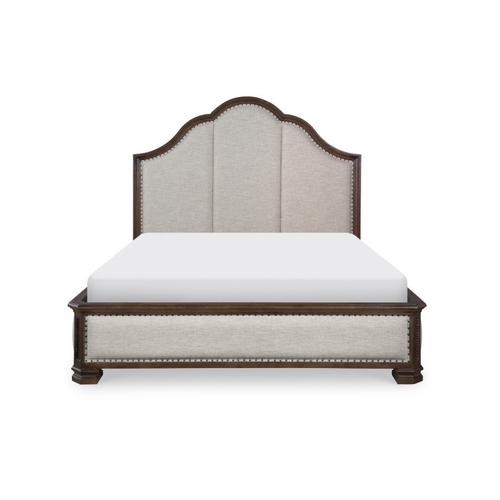 Refined Rustic by Rachael Ray Complete Upholstered Bed, CA King 6/0