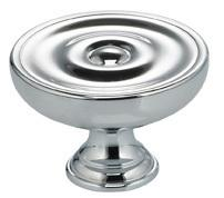 Classic Cabinet Knob in US26 (Polished Chrome Plated) Product Image