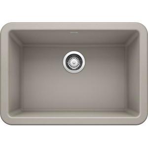 """Ikon® 27"""" Apron Front - Concrete Gray"""