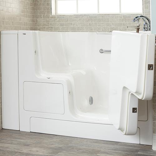 American Standard - Value Series 32x52-inch Walk-in Tub  Outward Opening Door  American Standard - White